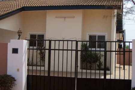 A private room in a gated community - Accra
