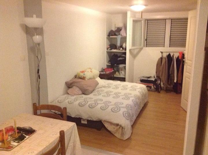 Studio idéal pour un cour séjour