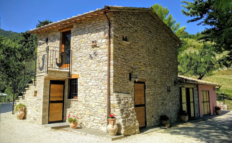 Old farmhouse in the Woods - Assisi - Apartment