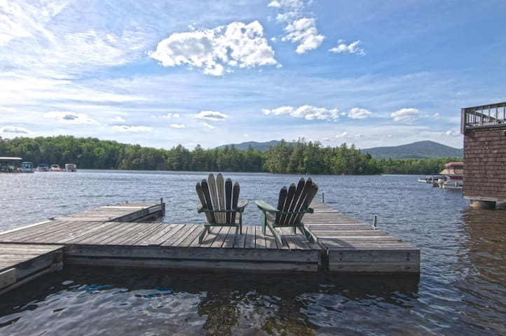 Camp Casper - Waterfront on Lake Placid