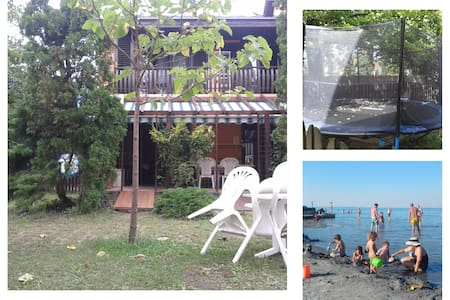 Balaton House close to sandy beach - Siófok - Talo