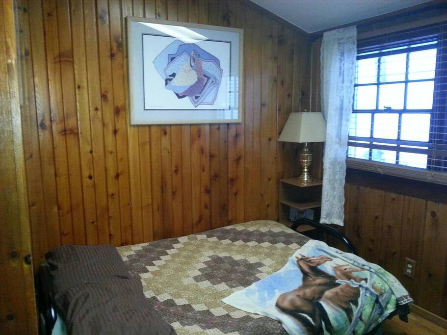 Third semi private bedroom.