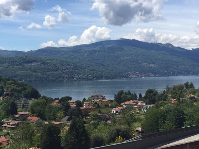 Lago Maggiore, house, swimming pool - Leggiuno - Lägenhet