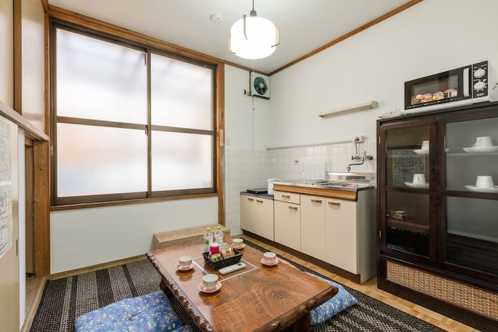 Convenient place for stay. From Kyoto sta.12min - Minami Ward, Kyoto - House
