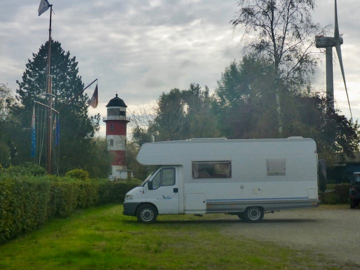 Rosinante - Camping im Garten des Delight-House