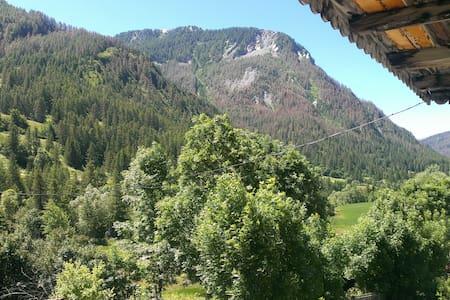 Ferme à la montagne au calme - Saint-Paul-sur-Ubaye