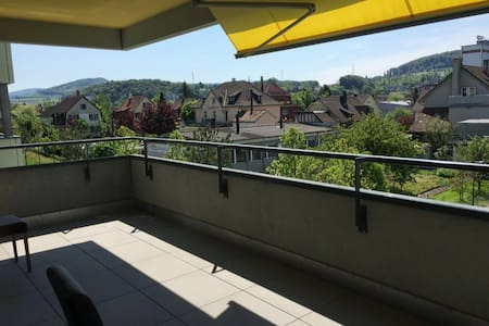 Modern Apartment 10 min from Basel - Pratteln