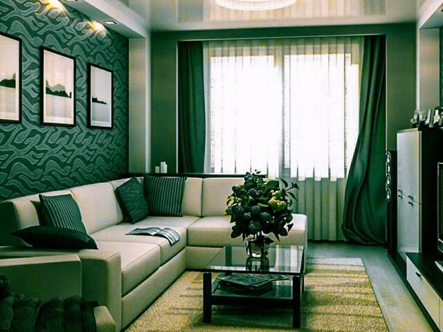 Двухкомнатная квартира в городе Москва.