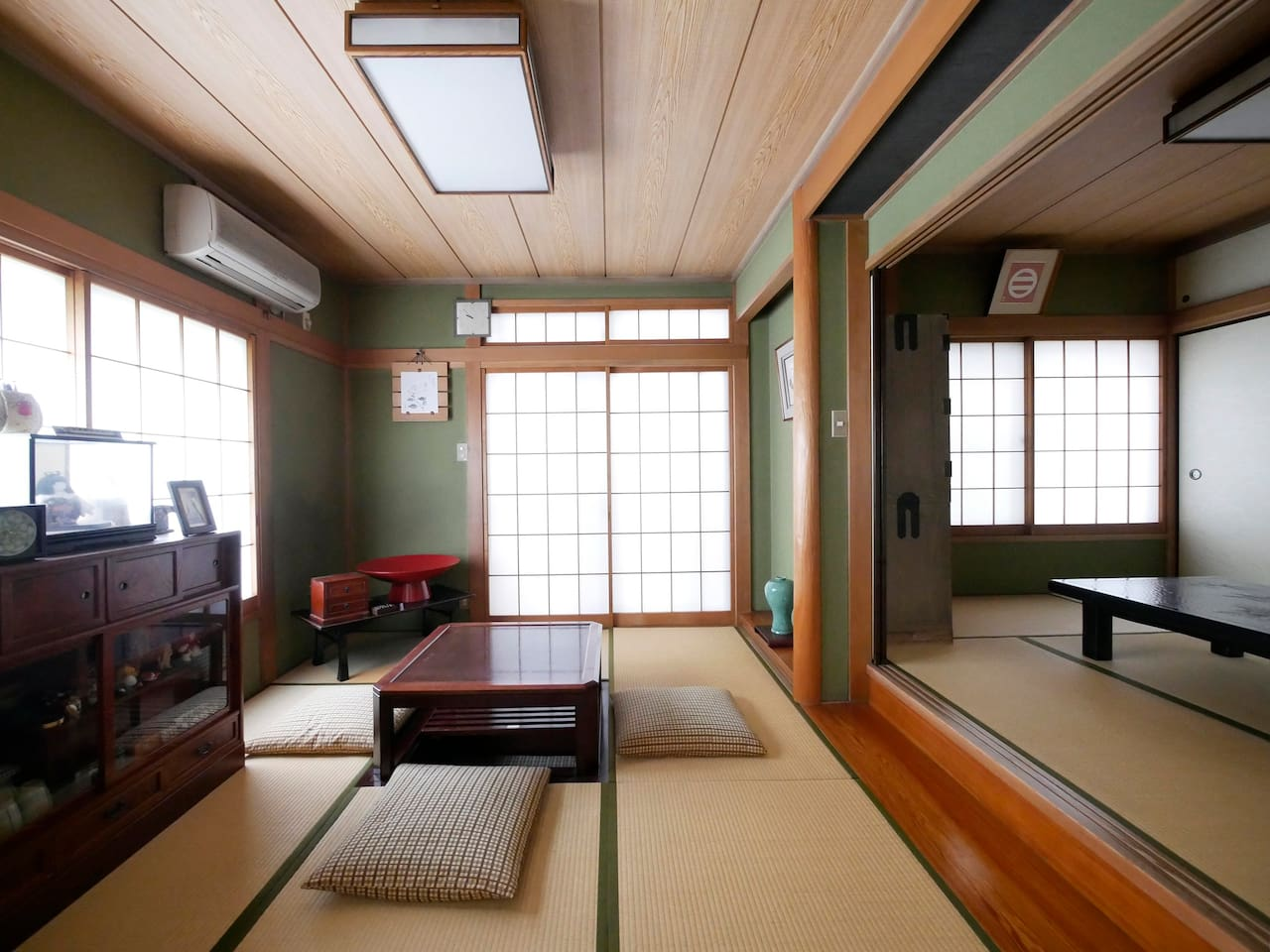 This room like Grand mama's home in Japan