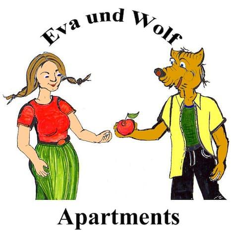 Eva und Wolf Apartments, (Sachsenheim), Apartment Panorama, 34 qm, max. 3 Personen