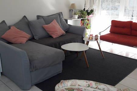 Appartement lumineux, et chaleureux - La Riche - อพาร์ทเมนท์