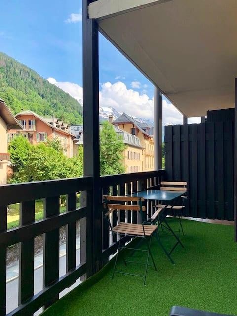 Charmant studio au cœur de Saint-Gervais Les-Bains
