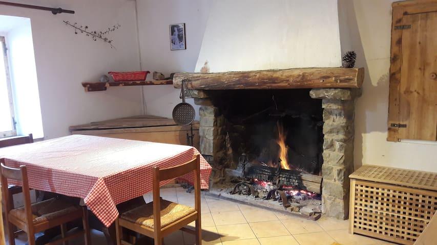 Appartamento in sasso - vista Pietra di Bismantova - Castelnovo Ne' Monti