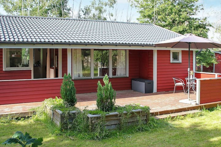 Spacious Holiday Home in Hovedstaden on Beach