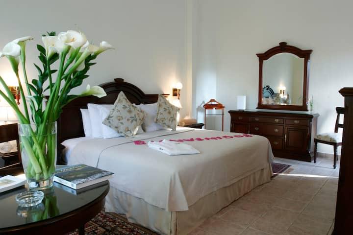 Suite Colonial en Hotel de 5 estrellas