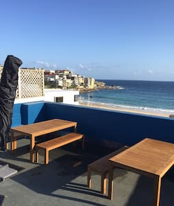 Right on Bondi Beach...123