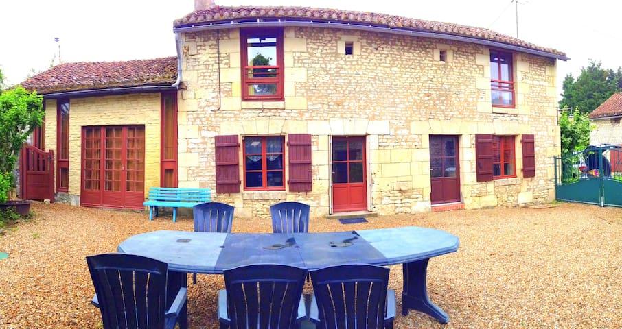 GITE de la COMBE calme en Touraine - Courcoué - Hus