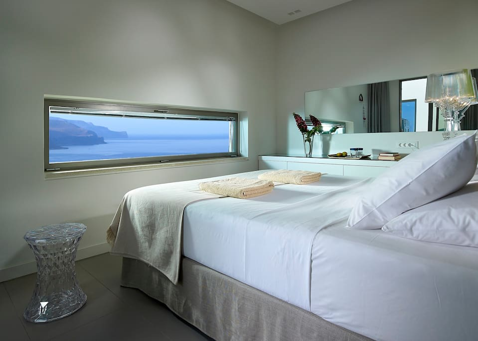 Stunning views from the bedroom