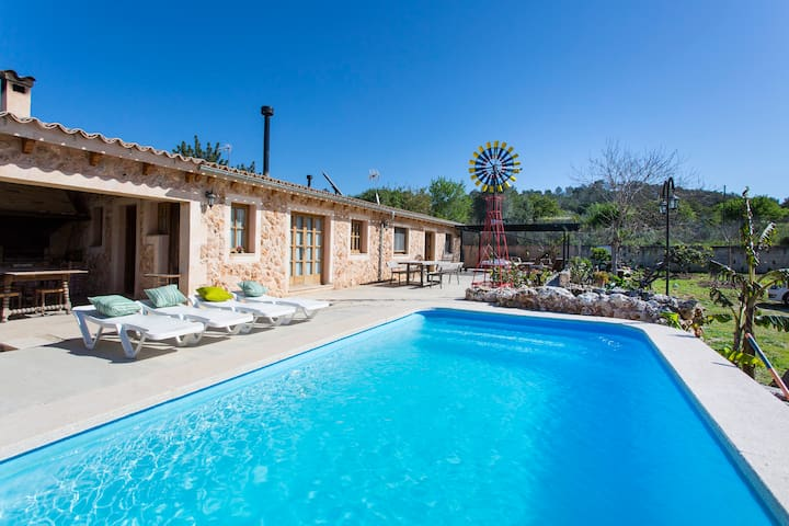 Charming finca & pool near Santa Maria - Marratxinet - Hus