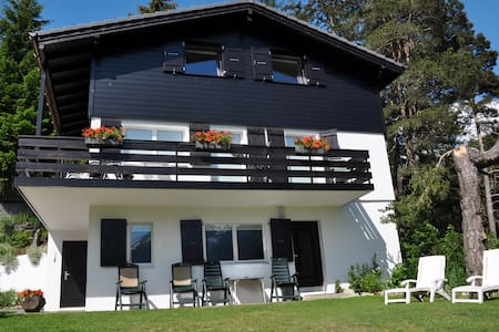 Chalet Lara with breath-taking view - Fiesch - Huoneisto