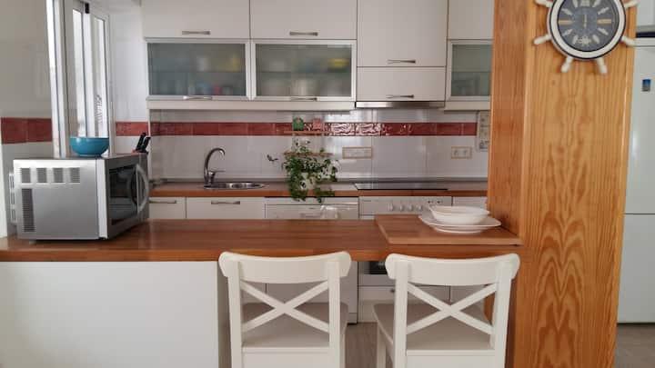 Apartamento familiar a orillas del Mar Menor