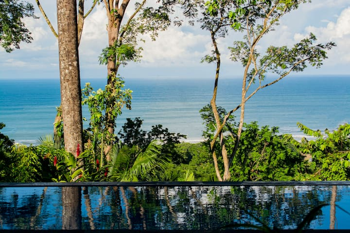 Brand New White Water View Villa in Dominical!!