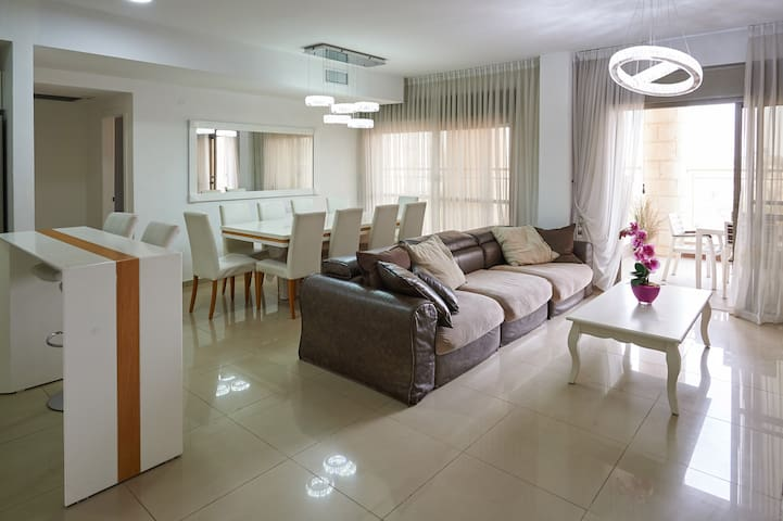 modern apartment in a great location