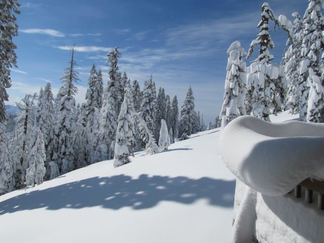 Privacy & Panoramic Views at 7000ft - Bear Valley - Mökki