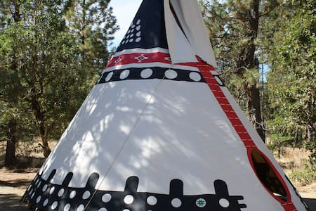 Beautiful 22' Ceremonial TiPi (TP1)