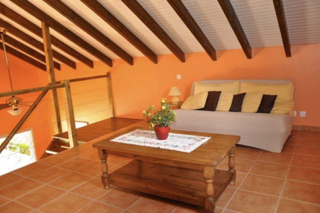 Bungalow cr ole dans un jardin tropical houses for rent for Jardin tropical guadeloupe