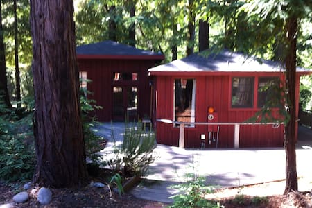 cabin overlooking Soquel Creek - Santa Cruz