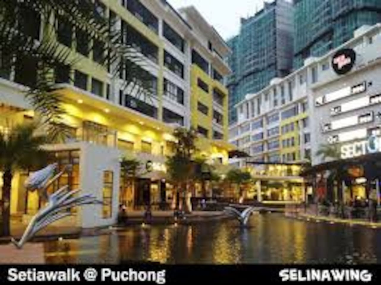 Commercial Area Water Features