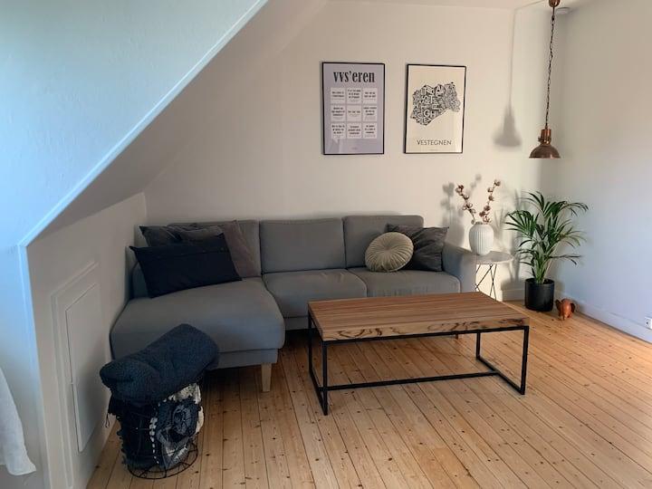 Hyggelig 2-værelses lejlighed