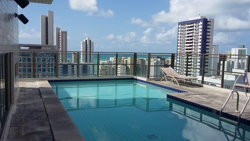 Excelente Flat Boa Viagem, Recife.