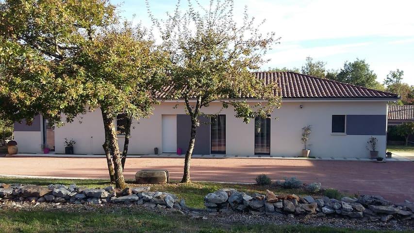 Maison contemporaine proche Figeac... - Reyrevignes - Casa