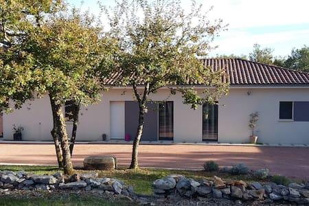 Maison contemporaine proche Figeac... - Reyrevignes - Dom