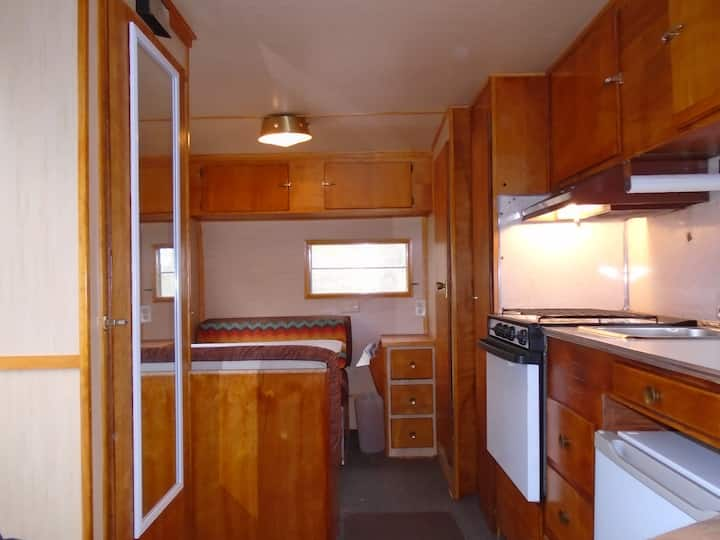 Glamping in Retro Vintage Camper!  Book Early!