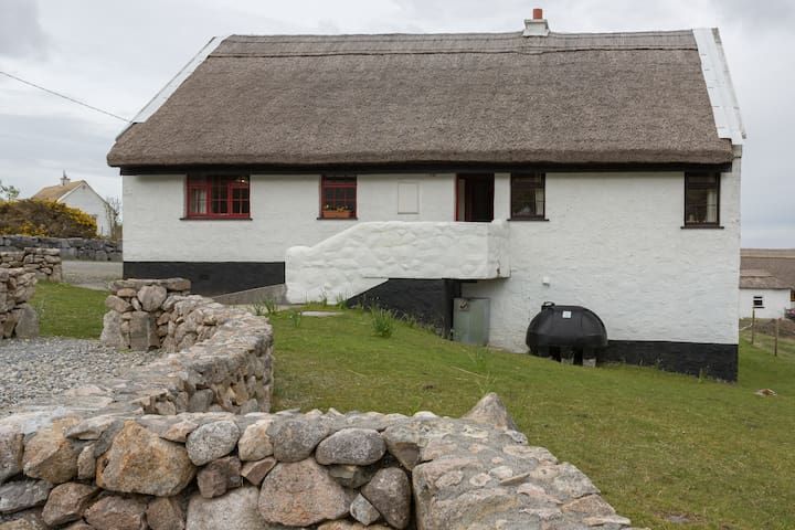 Traditional Thatched Cottage on a working farm