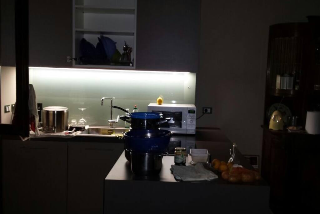 la zona cucina