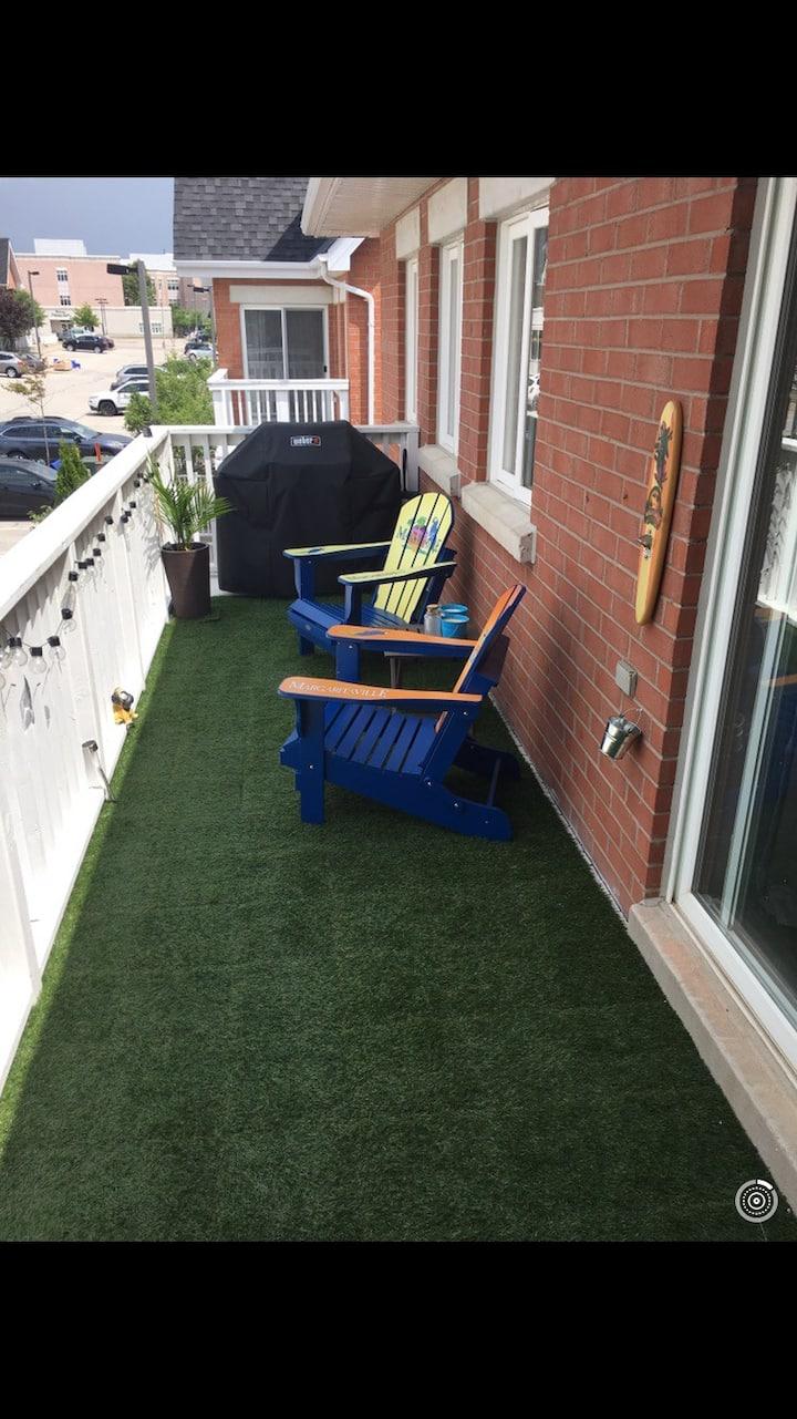 3 Bed 2bath Condo in Central Burlington
