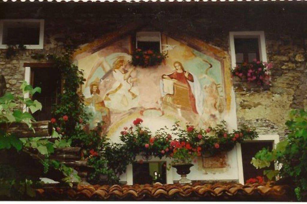 Vista dalla camera matrimoniale Casa di Teresa
