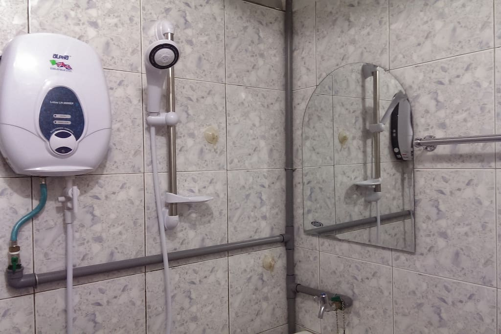 Water Heater & shower