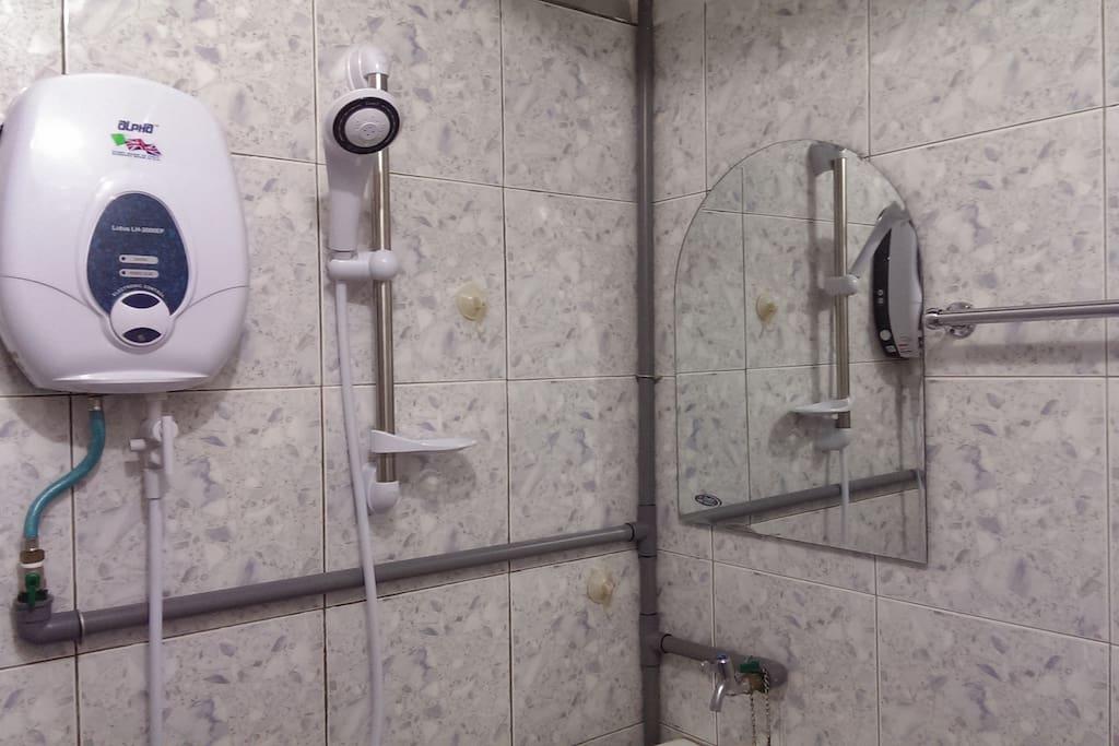 Water Heater & shower