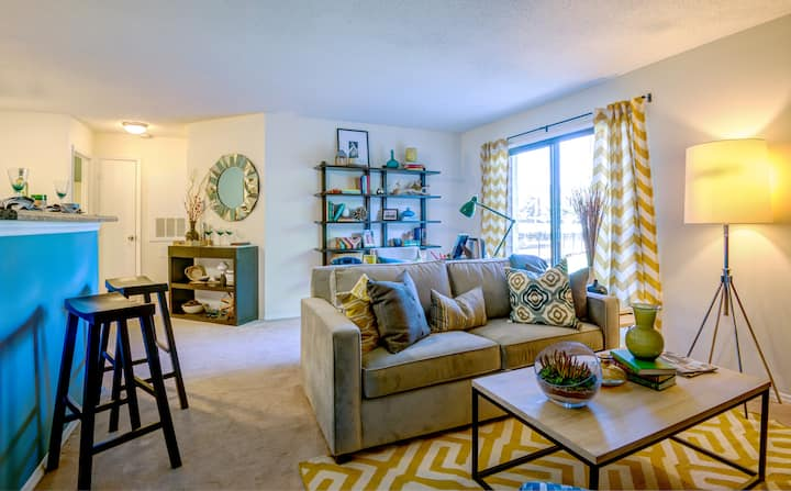 Relax in an apt of your own | 2BR in Durham