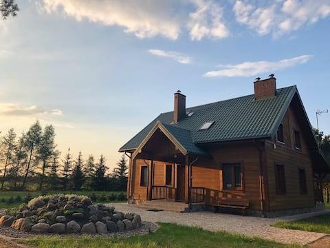 Sosnówka - dom wypoczynkowy na Kurpiach