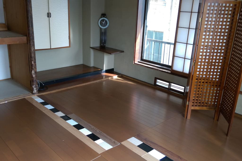 フローリングの部屋です。(一例)