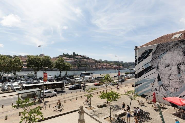 Goabio apartmento XL T3 vista de rio