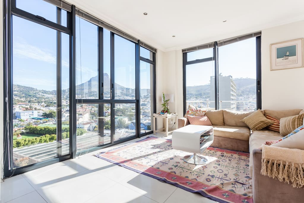 city penthouse in central cape town wohnungen zur miete in kapstadt westkap s dafrika. Black Bedroom Furniture Sets. Home Design Ideas