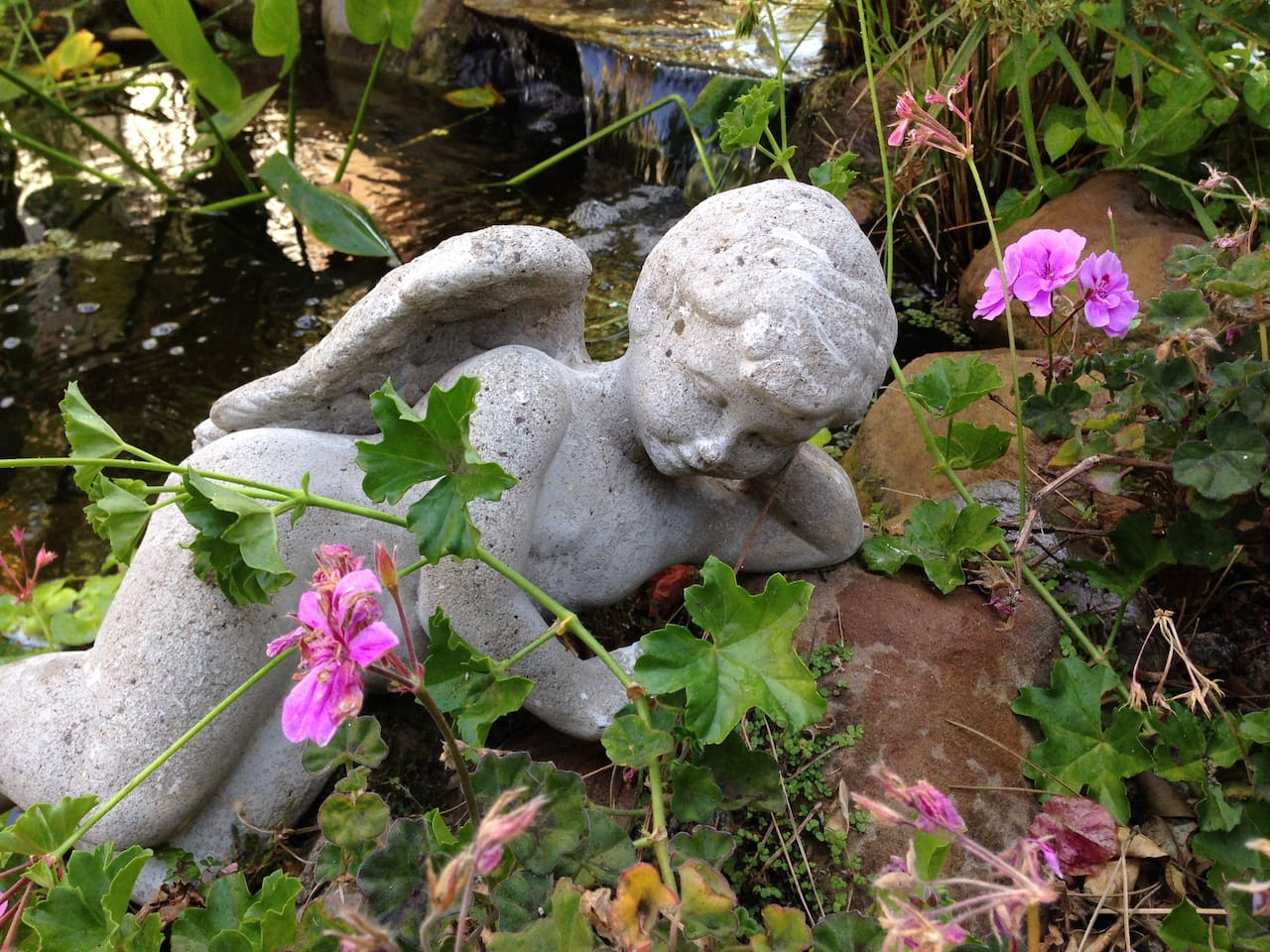 Our Garden is Protected by Angels