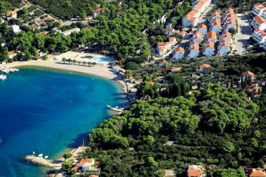 ApartSolta Blue Sea apartment for 5 people Necujam